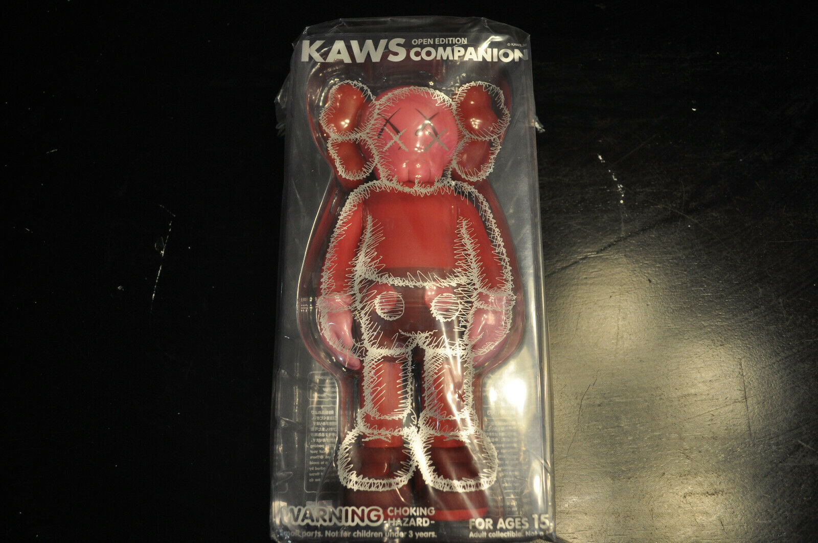KAWS VINYL COMPANION blueSH FIGURE 100% AUTHENTIC