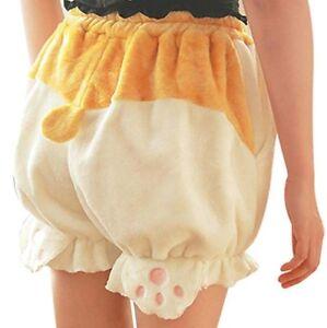 Disfraz Lindo Oso De Cola Bastante Piel Pantalones Cortos Ropa Conejo Bunny Kawaii Emo Inferior Ebay