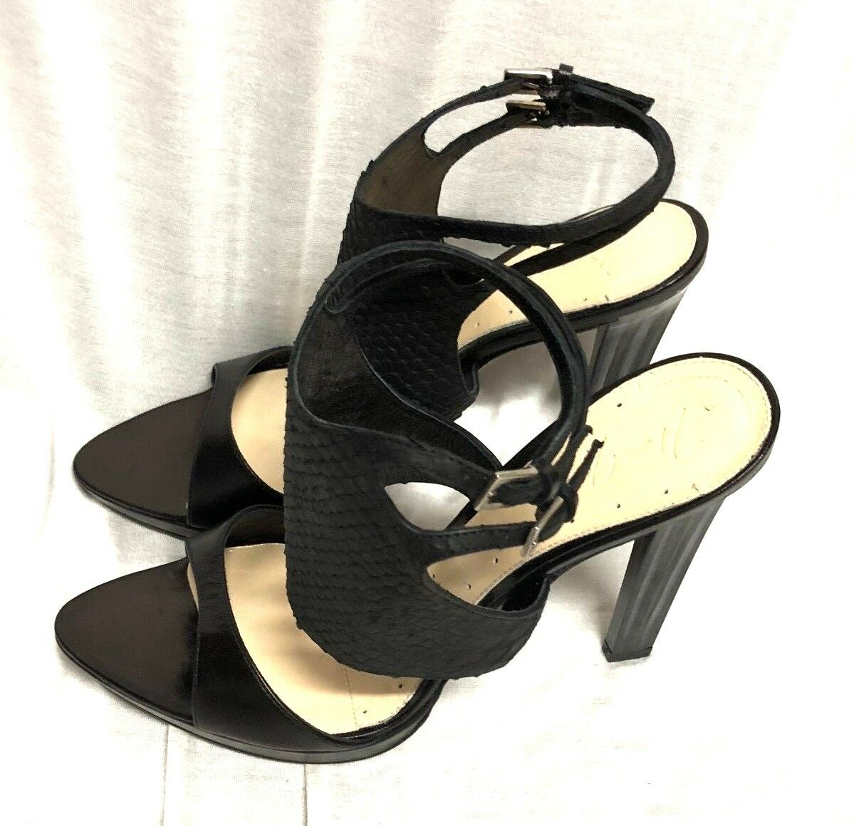 64ca4a31fe4 BCBG MAXAZRIA SHOES High Heel black Leather Size 9 39 nohjhj4128 ...