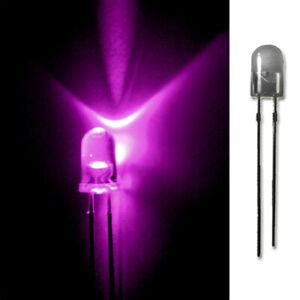 LED-5mm-PINK-20-50-100-500-LEUCHTDIODEN-SUPERHELL-RUNDKOPF-AUSWAHL
