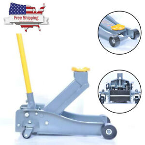 3 Ton Floor Jack Heavy Service Arcan Duty Steel Low Profile Pump Rapid Car USA