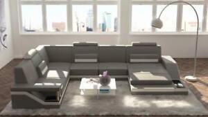 Design-Interieur-de-la-Maison-Forme-U-Canape-Canape-D-039-Angle-Rembourrage-Ensemble
