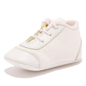 check out 0a1ff 85408 Details about 5041Z scarpe culla bimba girl SIMONETTA TINY white newborn  shoes