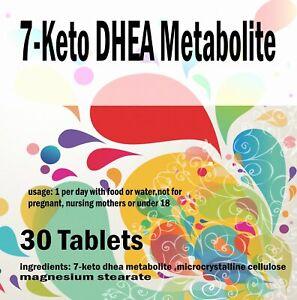 7-Keto-Dhea-Metabolite-30-Comprimes