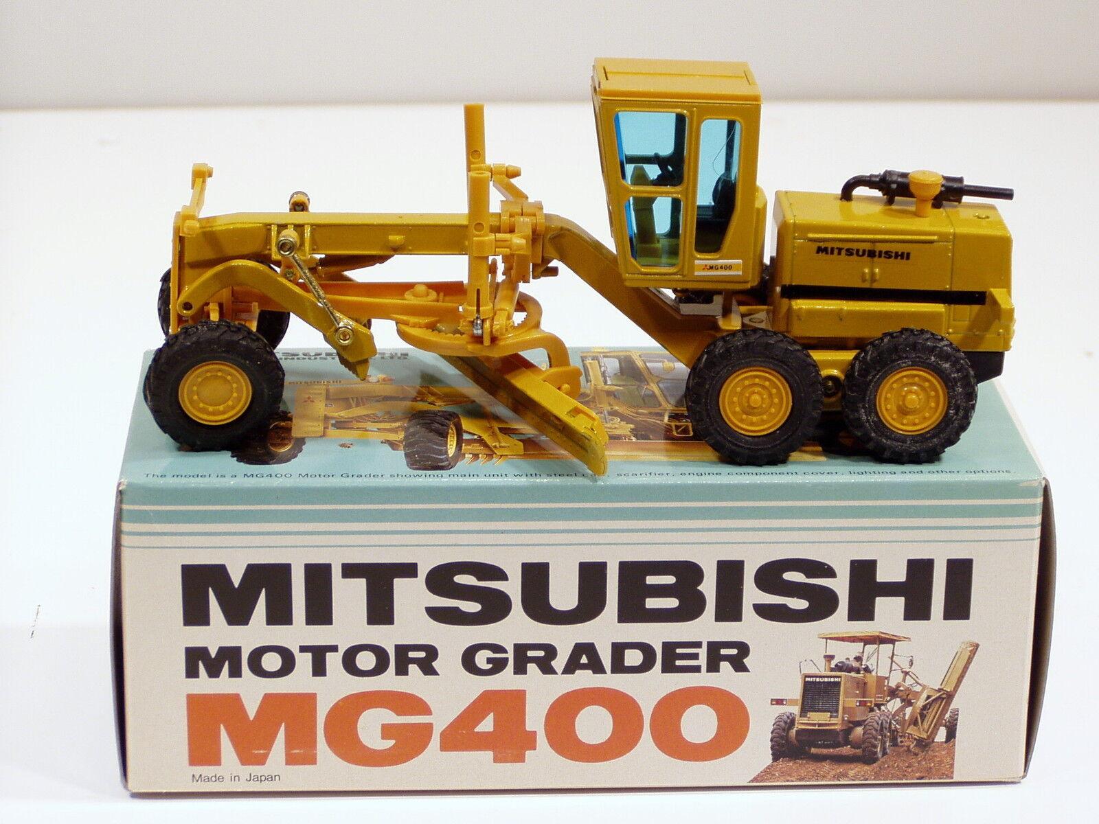 Mitsubishi MG400 Grader - 1 50 - MIB - Japan