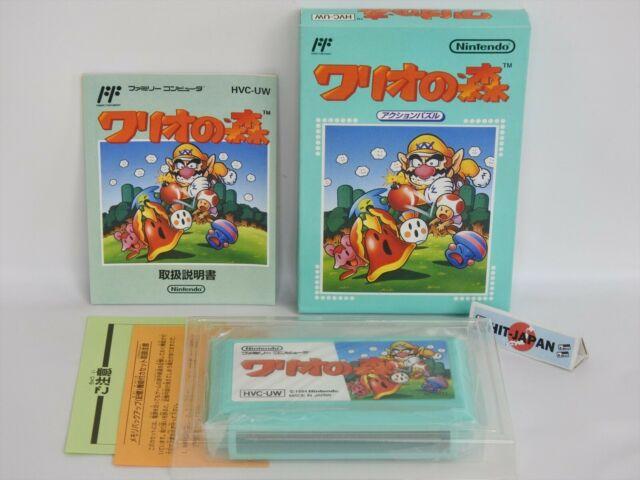 Wario non Mori Excellent État Réf / 0608 Famicom Nintendo FC