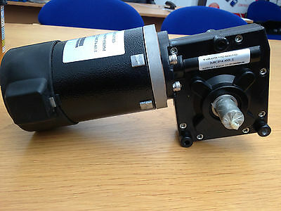 12V DC Geared Motor, Motor with 60:1 ratio Gearbox (Left Hand)