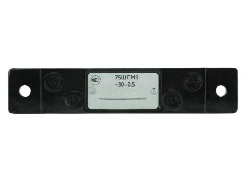 30A 0.5/% 75mV 75SHCM Copper Ammeter Shunt Resistor DC Current
