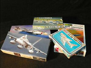 Mixed-era-Jet-Aircraft-Kits-Scale-1-72-Set-20-3-Mixed-Manufacturers-Rare