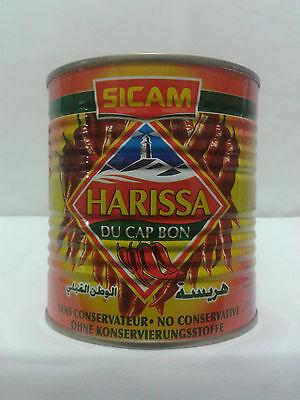 10 DOSEN TUNESIEN HARISSA PASTE  -10 x 135 GR - ORIGINAL HARISSA CAP BON CHILLI