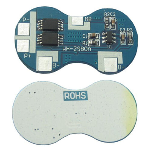 2 S 4 A BMS Protection PCB Board for 2 Packs 18650 Li-Ion Batterie Au Lithium Cellule NEUF