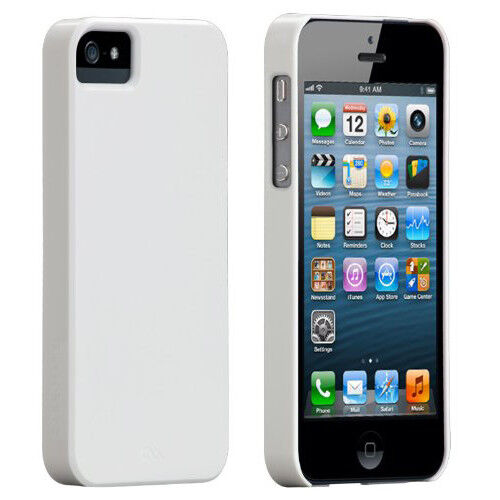 Case Mate Barely There Cases for Apple iPhone 5/5s/SE - White