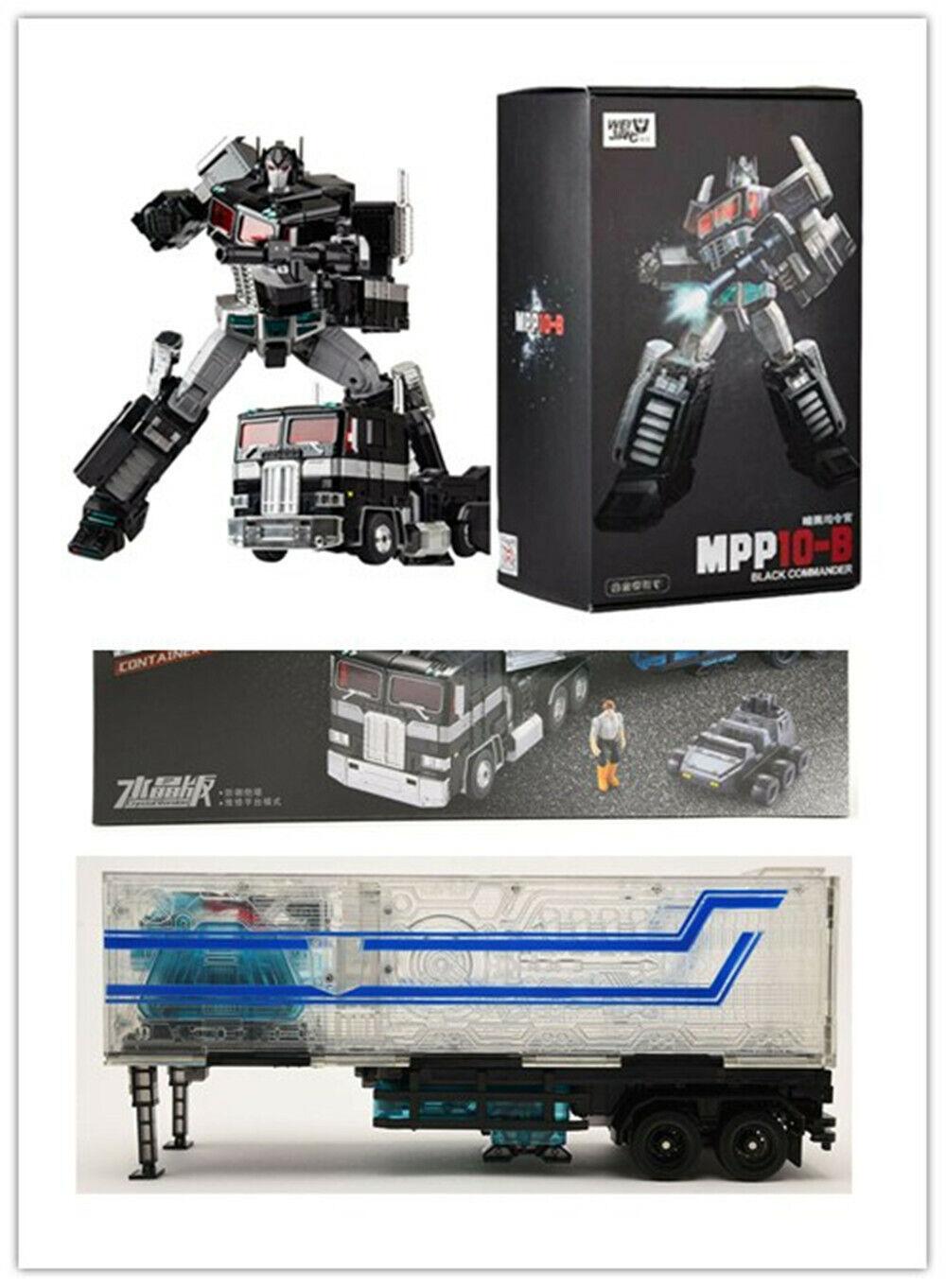 WEIJIANG Transformers Optimus Prime MPP10-B black und und