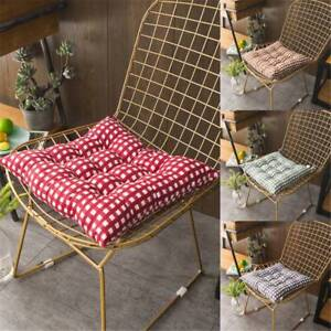 40-40cm-Soft-Cushion-Pad-Seat-Chair-Patio-Home-Car-Sofa-Office-Square-4-Colors