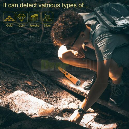 Metal Detector Waterproof Gold Digger Hunter Finder Pinpointer Sensitive Tester