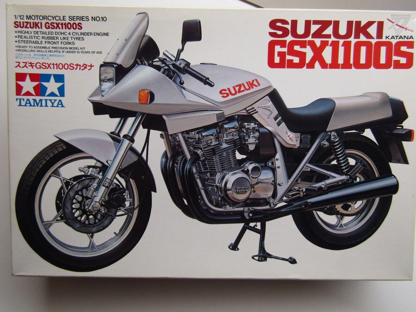 Tamiya Vintage 1 12 Scale Suzuki Suzuki Suzuki GSX1100S Katana Model Kit - New 900 c4ae95