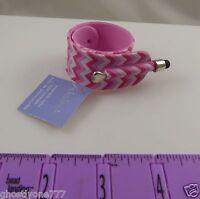 compatible with Ipad iphone smart phone  stylus pen pink slap bracelet