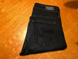 AG-ADRIANO-GOLDSCHMIED-FARRAH-HIGH-RISE-SKINNY-STRETCH-JEANS-27-X-32-NICE
