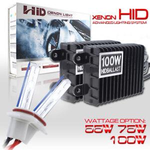 55W//75W//100W HID Headlight Conversion Kit 880 9005 9006 H1 H4 H7 H3 H11 H13 5202