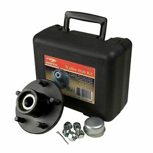 "5 Lug Trailer Wheel Hub Assembly Kit 1/"""