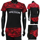 Military T Shirt Men Army Mens Shirts Us Red American Navy Camouflage Tactical