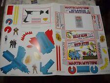 MARTIN MYSTERE PISTOLA A RAGGI DA TAGLIARE RAY BUSTER 1994 GADGET RARITA' !!!