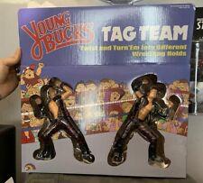 AEW Young Bucks 2 Pack Shirts for Mattel Wrestling Figures WWE NXT ROH NJPW