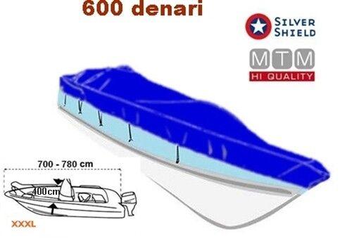 TELO COPRIBARCA BLUE IMPERMEABILE MISURE XL-XXL-XXXL 600 DENARI COPRI BARCA