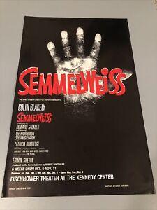 Semmelweiss Colin Blakey Kennedy center Broadway Window Card Poster