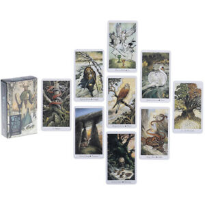 78-Nature-Tarot-Cards-Deck-Full-English-Mysterious-Animal-Playing-Board-Game-X1F