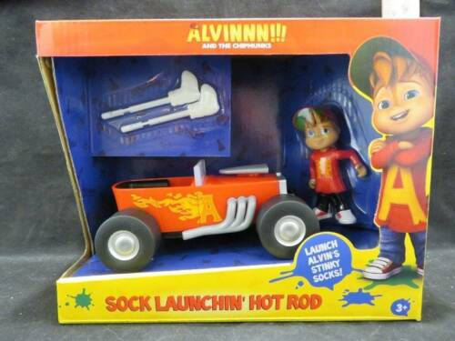 and the Chipmunks Sock Launchin/' Hot Rod with Alvin Figure New in Box Alvinnn!