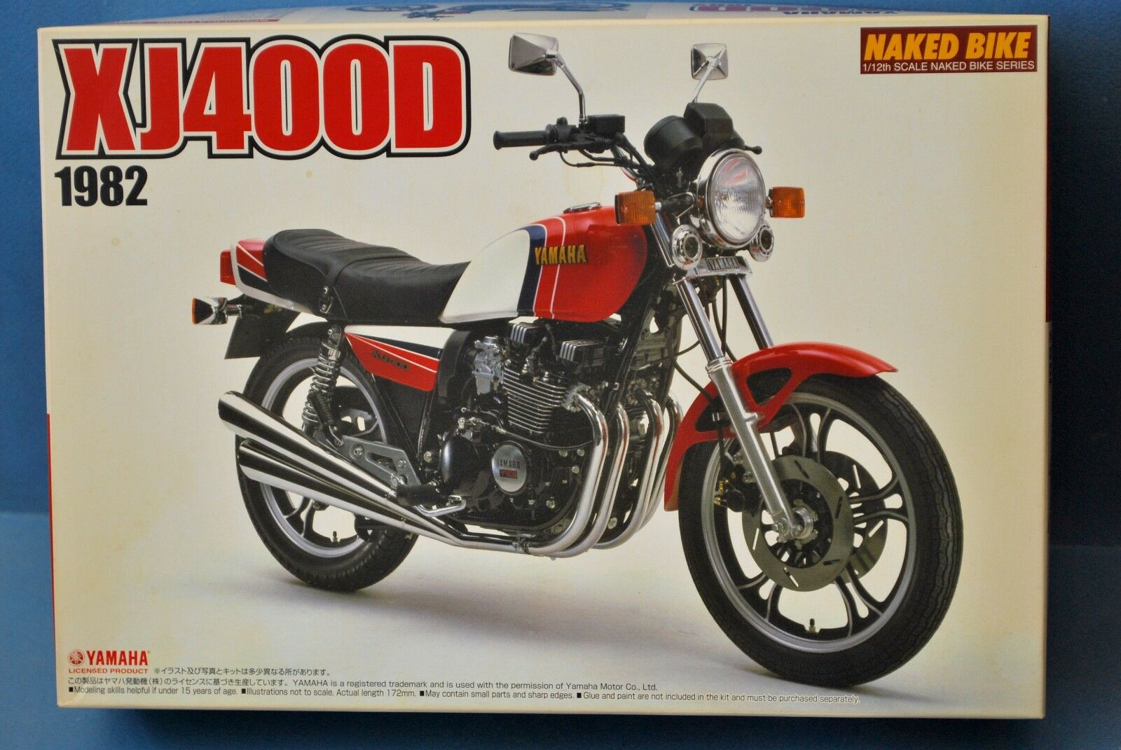 AOSHIMA JAPAN 1 12  YAMAHA XJ400 D. 1982. VERY RARE KIT