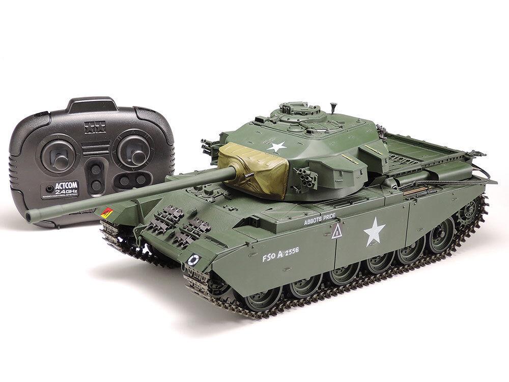 56604  RC CENTURION MK Tanque Tamiya Conjunto completo de batalla III 2.4GHz Kit