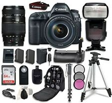 Canon EOS 5D Mark IV Digital SLR Camera Bundle with EF 24-105mm f/4L IS II USM