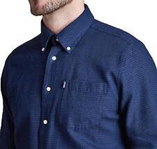 544f7f1d0dc Barbour Jasper Oxford Shirt Long Sleeve XXL 2XL Indigo Blue £120