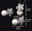 18k-Rhodium-GP-Fresh-Water-Pearl-Necklace-Earrings-Set-made-w-Swarovski-Crystal thumbnail 8