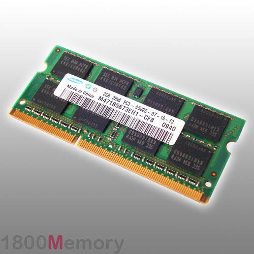 Apple Mac 2GB Memory 1066MHz DDR3 PC3-8500 RAM MacBook Pro iMac Mini Core 2 Duo