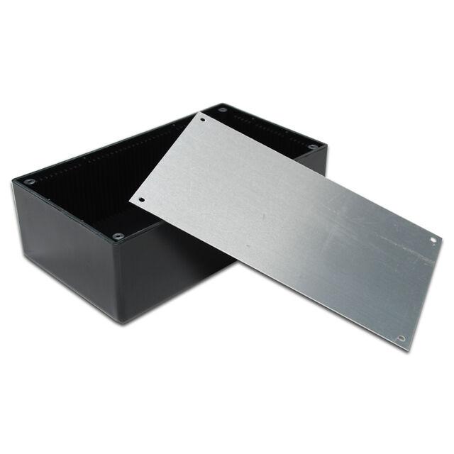 """SX843 8"""" DIY Black Plastic Electronic Project Enclosure Box Case"""