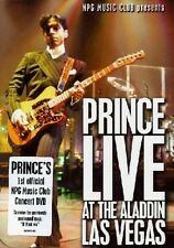 "PRINCE ""LIVE AT THE ALADDIN-LAS VEGAS"" DVD NEUWARE!!!!!"
