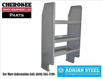 "Adrian Steel AD26TCNB 26/"" AD Series Shelving Unit for Transit Connect"