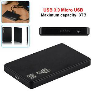 USB 3.0 1TB  External Hard Drive Portable Desktop Mobile Hard Disk Case