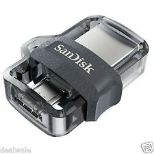 SANDISK 16GB ULTRA USB 3.0 OTG PENDRIVE DUAL DRIVE M3.0 5 Years Warranty