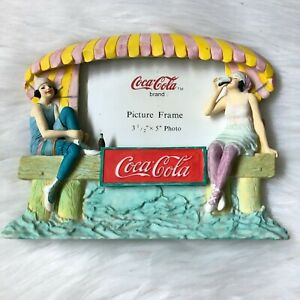 Coca-Cola-Vintage-Style-At-the-Beach-Picture-Frame-3-5-034-x-5-034