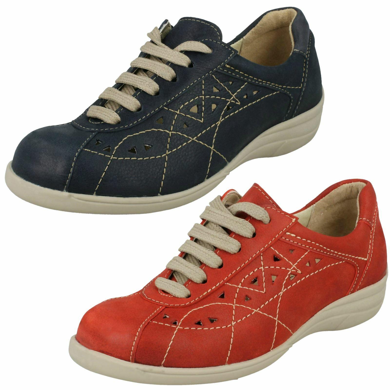 Femmes Easy B plat, lacets chaussures de loisirs  HORNSEA