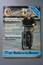 R&L Mag: Classic Bike Magazine Oct 1983 Bat De Dion/250 Mondial Racer/Bsa C10