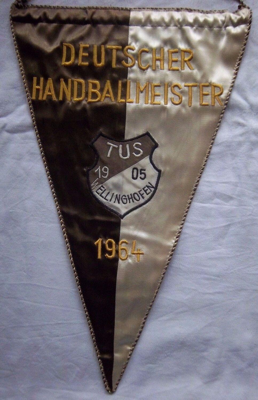 ORIG. GAGLIARDETTO tus wellinghofen-maestro tedesco tedesco tedesco 1964 44,5 CM RICAMATI  Top b125b8