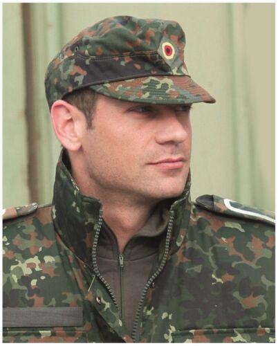 Nouveau Original Armée Allemande Camouflage BW Cap Taille 56-64