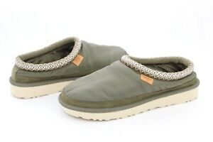 5b41df0a83b UGG for Men Tasman MLT Bomber Nylon Military Green Slippers Mens ...