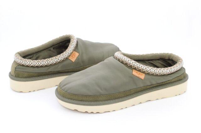 044e1600c38 UGG for Men Tasman MLT Bomber Nylon Military Green Slippers Mens Size 9 US