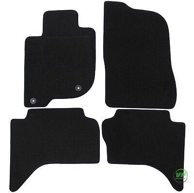 Auto-Fußmatten Limited Black für Fiat Fullback ab 2016 Automatten Autoteppiche